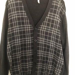 Men Marc Ecko sweater jacket